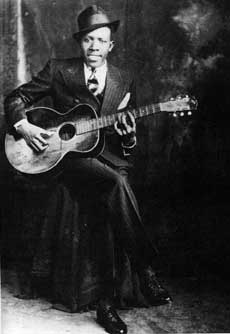 Robert Johnson, circa 1935.